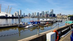 docklands royalty free stock photos