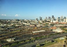 Docklands w Melbourne mieście Obrazy Stock