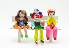 dockor som molding tvål Arkivbild