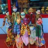 Dockor Wayang Golek Royaltyfri Foto