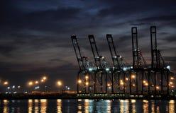 Docks Lizenzfreie Stockfotografie