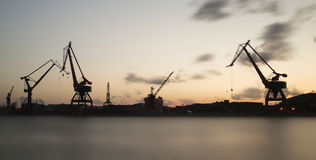 docks Photo libre de droits