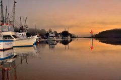 Docks royalty free stock image