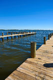 Docks de bateau Images stock