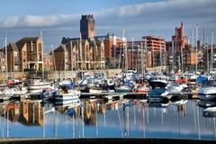 Docks de Coburn à Liverpool Photos stock