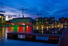 Docks de Dublin Photo stock