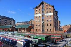 Docks de Goucester Photos stock