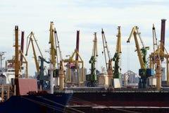 Docks de St Petersburg images libres de droits
