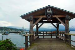 Docks de visionnement, baie vigilante, AVANT JÉSUS CHRIST Photos libres de droits