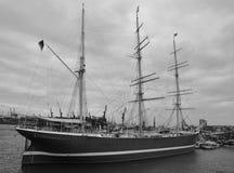 Docks in Hamburg harbour Stock Images