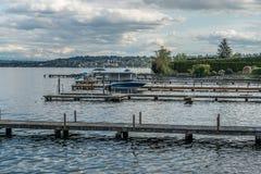 Docks Near Seward Park 2 Stock Photos
