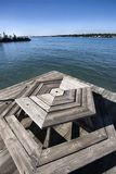 Docks on River Royalty Free Stock Photos