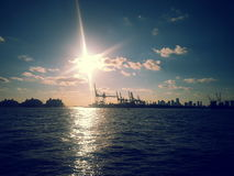 The docks Royalty Free Stock Images