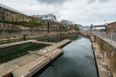 Docks on Sydneys Cockatoo Island. Royalty Free Stock Images