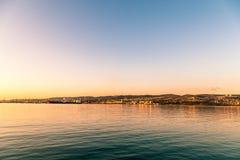 Docks of Trieste Stock Image