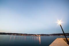 Docks of Trieste Stock Photo