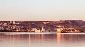 Docks of Trieste Stock Photography