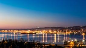 Docks of Trieste Royalty Free Stock Image