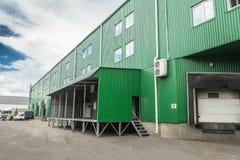 Docks warehouse Stock Images