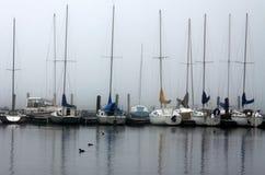 docksegelbåtar Royaltyfria Foton