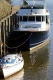 Dockseite Stockbild