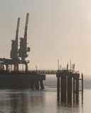 river thames industrial Stock Photos