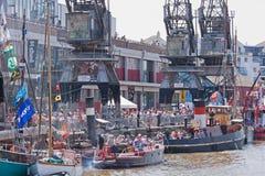 Dockside Festiwal Obrazy Royalty Free