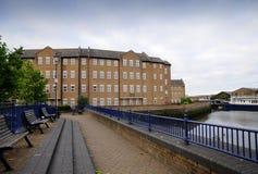 dockside mieści London starego Zdjęcia Stock