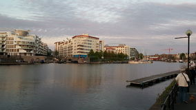 Dockside mieszkania Zdjęcia Stock