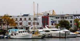 Dockside Restaurant & Brewing Company fotos de archivo