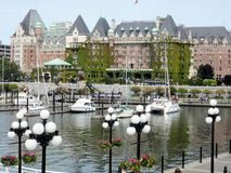 Dockside at Victoria Stock Photography
