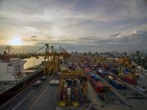 Dockyard Stock Photo