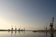 Dockyard And Port Royalty Free Stock Photo