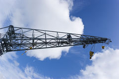 Dockyard Crane Stock Photography