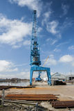 Dockyard in Goole. Stock Images