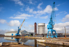 Dockyard in Goole. Stock Photos