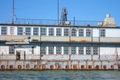 Dockyard in Kerch, Crimea, Ukraine Royalty Free Stock Photography