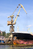Dockyard Ship Repair Royalty Free Stock Photo