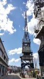 Dockyard żuraw Zdjęcia Stock