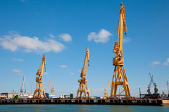 Dockyards of C�diz Stock Photos