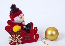 Docoration do Natal Fotografia de Stock Royalty Free