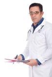 Docteur âgé par milieu Photos stock