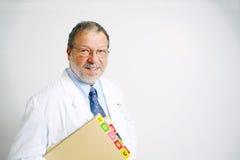 Docteur aîné photographie stock libre de droits