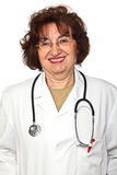 Docteur aîné de femme Image libre de droits