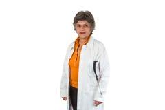Docteur aîné de femme Photos libres de droits