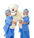 Docteur adorable d'enfants photographie stock libre de droits