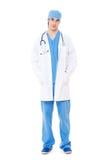 Docteur amical dans l'uniforme photographie stock