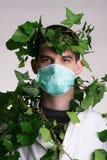 Docteur avec l'herbe de médecin Photos libres de droits