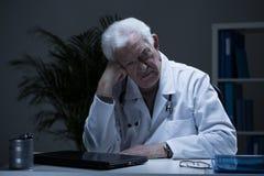 Docteur avec la dépression Image libre de droits