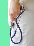 Docteur avec le stéthoscope Image stock